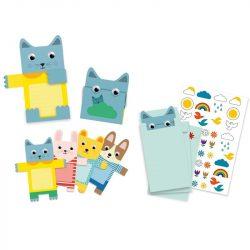 Cuddly meghívója - Meghívó - Cuddly toys invitation cards - Djeco