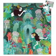 Hableány puzzle - Puzzle 54 db - Aquadic paradise - 54pcs - Djeco