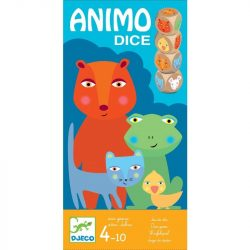 Animo Dices - Dobókockás társasjáték - Animo Dices - Djeco