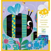 Bogarak - Képalkotás karcolással - Bugs - Djeco