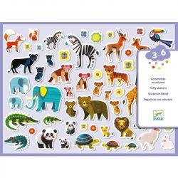Állatok és kicsinyeik - Matrica szett - Mothers and babies - Djeco