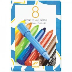 Klassziku színek gél pasztel toll 8 db - 8 gel pastels - classic colours - Djeco