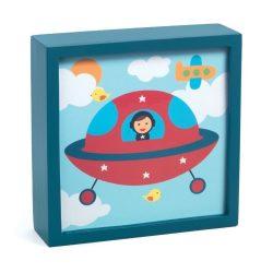 Varázslatos űrhajós - Szoba dekoráció - Polo space - Djeco
