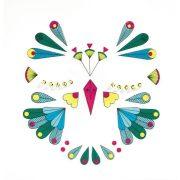 Madárka - Arc dekoráció - Bird - Djeco