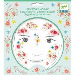 Tavasztündér - Arc dekoráció - Springtime fairy - Djeco