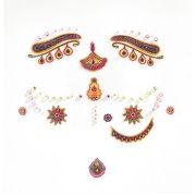 India hercegnője - Arc dekoráció - Princess India - Djeco