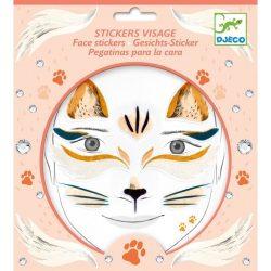 Cicalány - Arc dekoráció - Cat - Djeco