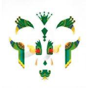 Sárkány - Arc dekoráció - Dragon - Djeco