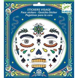 Pókember - Arc dekoráció - Skull - Djeco