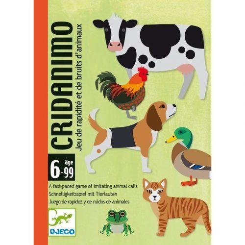 Cridanimo - Hangutánzós gyorsasági játék - Cridanimo