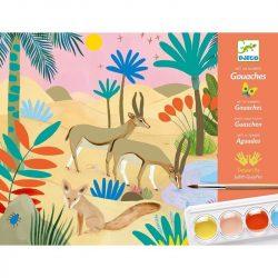 Természet - Vizes bázisú festő készlet - Natural world