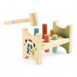 Panda kalapálós játék - Fa kalapáló - Junzo taptap