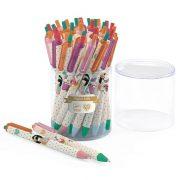 36 db kék golyóstoll - 36 blue ballpoint pens