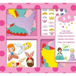 Kreatív hercegnő készítő - I love princesses