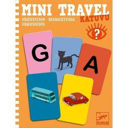 Figyelj és keress utazó játék- Mini Travel - Katuvu - Djeco