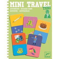 Ki kicsoda utazó játék - Mini Travel - Teki - Djeco