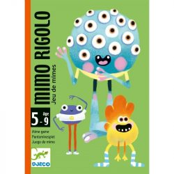 GrimArc - Utánozós kártyajáték - Mimo Rigolo - Djeco