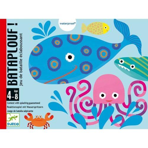 Halászháló - Gyorsasági vízes kártyajáték - Djeco