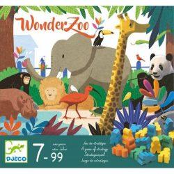 Csodálatos állatkert - Logikai játék - WonderZoo - Djeco