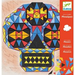 Koponyák mozaikból - Mozaik építő - John doe - Djeco