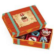 A rettenthetetlen kalózök süteményei - Fa szerepjáték - Pirates' Cakes - Djeco