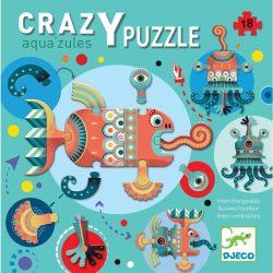 Vizi óriás puzzle - 18 db - Aqua'zules - Djeco