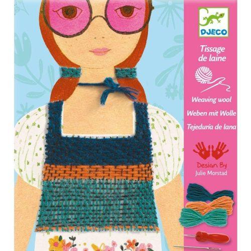 Ruhavarrás - Varrós kreatív szett - Rose-coloures glasses - Djeco