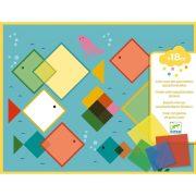 Varázslatos négyzetek - Kreatív készlet a legkisebbeknek - Magic squares - Djeco
