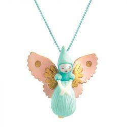 Tündérke - Lovely Charmes nyaklánc tündér medállal - Fairy - Djeco