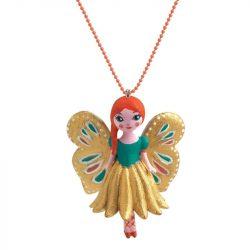 Pillangó - Lovely Charmes nyaklánc pillangó medállal - Butterfly - Djeco