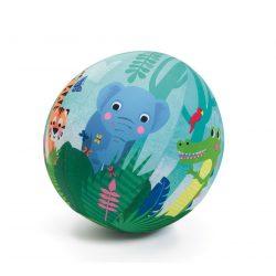 Dzsungel állatos textilhuzat lufira 23 cm - Textilhuzat - Jungle ball