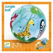 Dzsungel állatos textilhuzat lufira 23 cm - Textilhuzat - Jungle ball