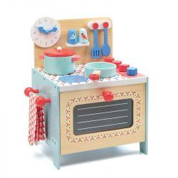 Romantikus kis konyha babaházhoz - Szerepjáték - Blue cooker