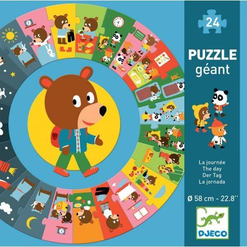 Ovis Mackó egy napja - Óriás puzzle 24 db-os - The day
