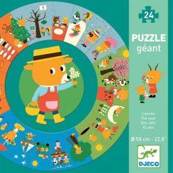 Ovis Mackó egy éve - Óriás puzzle 24 db-os - The year