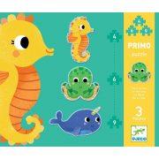 Tengeri állatok puzzle - 4, 6, 9 db-os puzzle - In the sea