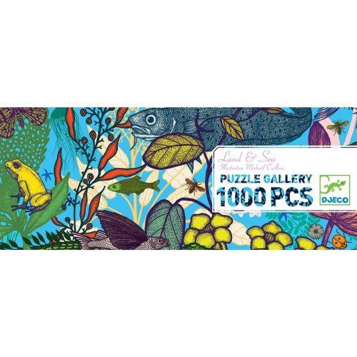 Élet a tengerben - Művész puzzle 1000 db-os - Land and Sea