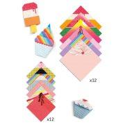 Hűsítő hajtogatás - Origami - Sweet Treats