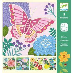 Élet a kertben - Rajzsablonok - Garden wings