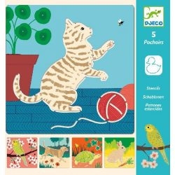 Cuki állatok - Rajzsablonok - Cute companions
