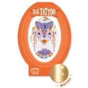 Misztikus fenevadak - Tetováló matricák fémes hatás - Mystic beast