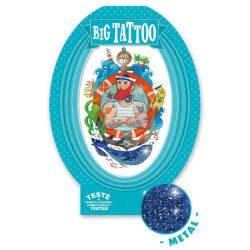 Tegerész - Tetováló matricák fémes hatás - Sailor