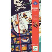 Kalóz hajó - Óriás puzzle 36 db-os - The pirate ship