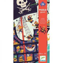 Kalóz hajó - Óriás puzzle 36 db-os - The pirate ship