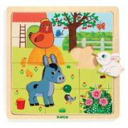 Háziállatos puzzle - Puzzle, formaillesztő - Puzzlo Farm