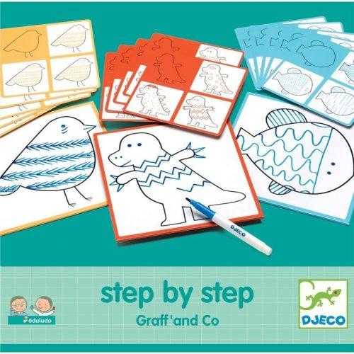 Állatkák lépésről lépésre - Step By Step Graff' and Co