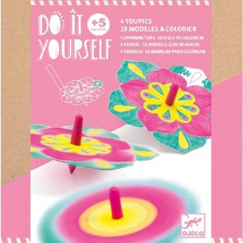 Virágos pörgettyű készítő - Csináld magad - Flowers - Djeco