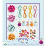 Gyöngyök és figurák - Gyöngyfűző készlet - Beads and figurines - Djeco