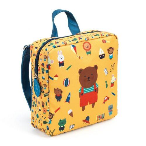 Macis ovis táska - Óvodás táska - Bear - Djeco