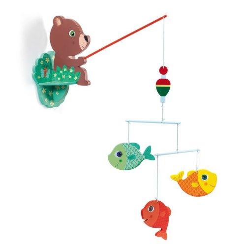 Horgász mackó - Függődísz - Fisherbear - Djeco